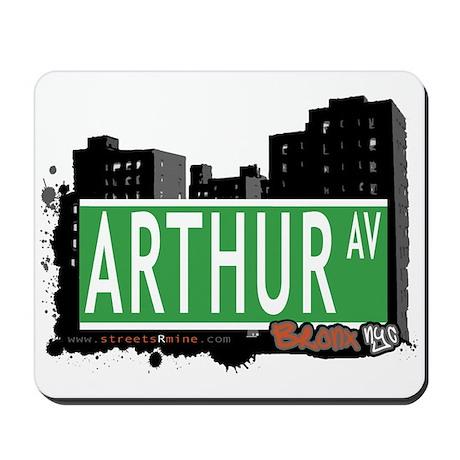 Arthur Av, Bronx NYC Mousepad