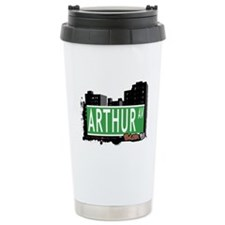 Arthur Av, Bronx NYC Travel Mug