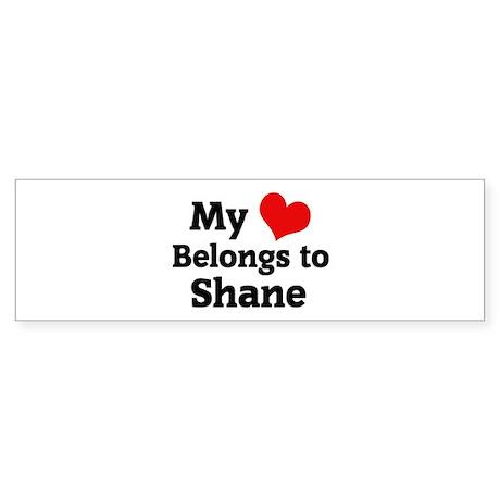 My Heart: Shane Bumper Sticker