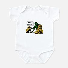 Cute Clash titans Infant Bodysuit