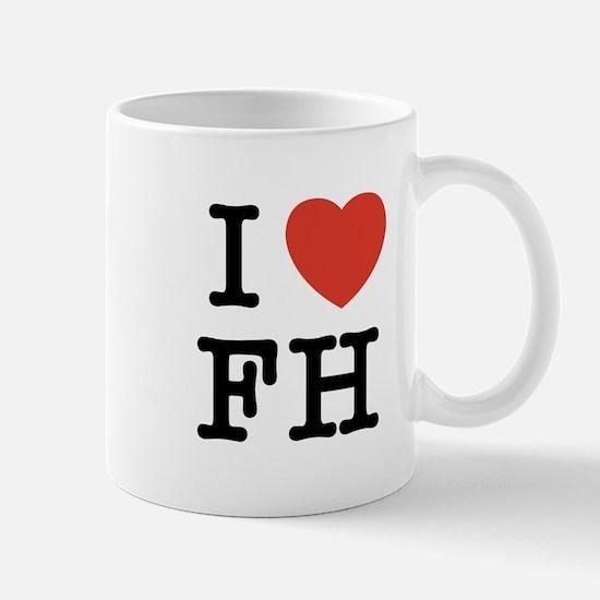 I Heart FH Mug