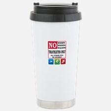 No Whimps Stainless Steel Travel Mug