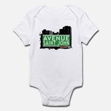 Avenue Saint John, Bronx NYC Infant Bodysuit