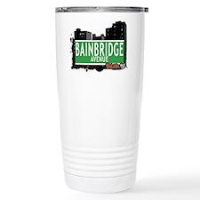 Bainbridge Av, Bronx, NYC Travel Mug