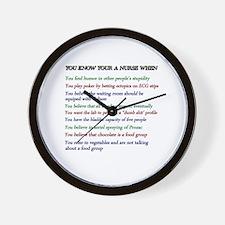 Unique Nursing school Wall Clock
