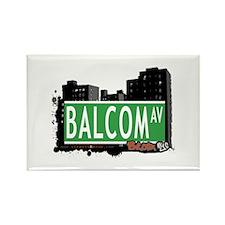 Balcom Av, Bronx, NYC Rectangle Magnet