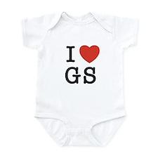 I Heart GS Infant Bodysuit