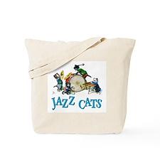 Jazz Cats Tote Bag