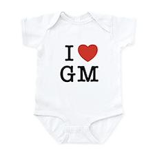 I Heart GM Infant Bodysuit