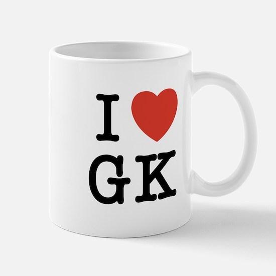 I Heart GK Mug