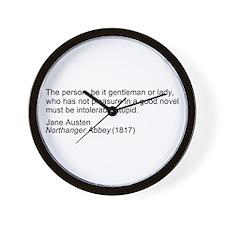 Unique Austen Wall Clock