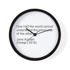 Cool Austen Wall Clock
