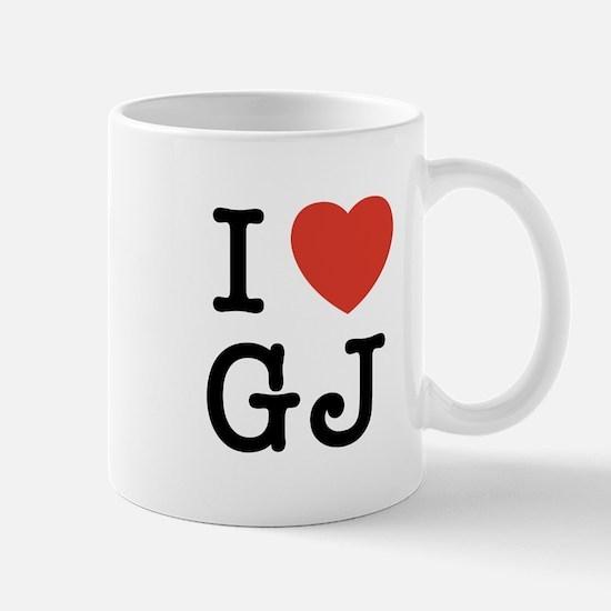 I Heart GJ Mug