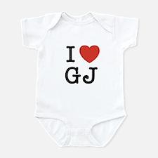 I Heart GJ Infant Bodysuit