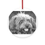 Bark Bark Woof Woof Ornament (Round)