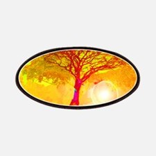 Gold Sunlight Tree of Life Patch