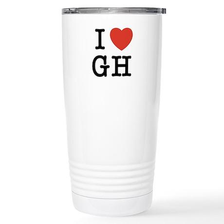 I Heart GH Stainless Steel Travel Mug