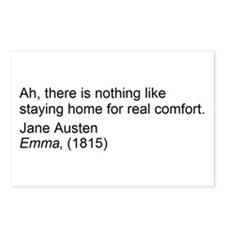 Cute Jane austen quotes Postcards (Package of 8)