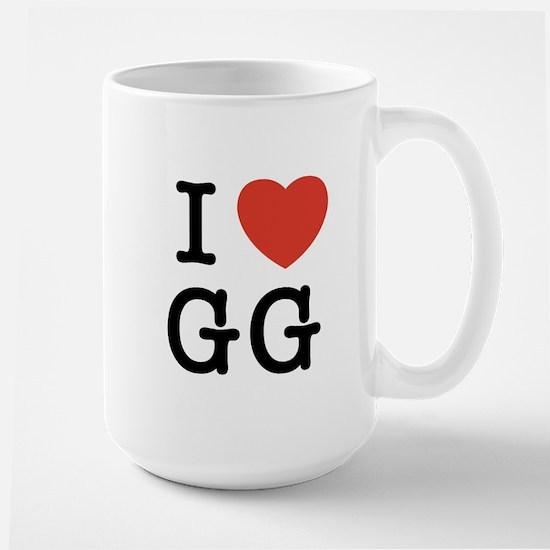 I Heart GG Large Mug
