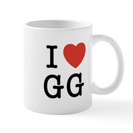 I Heart GG Mug