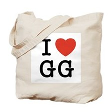 I Heart GG Tote Bag