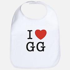 I Heart GG Bib