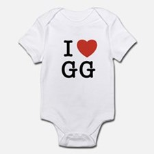 I Heart GG Infant Bodysuit