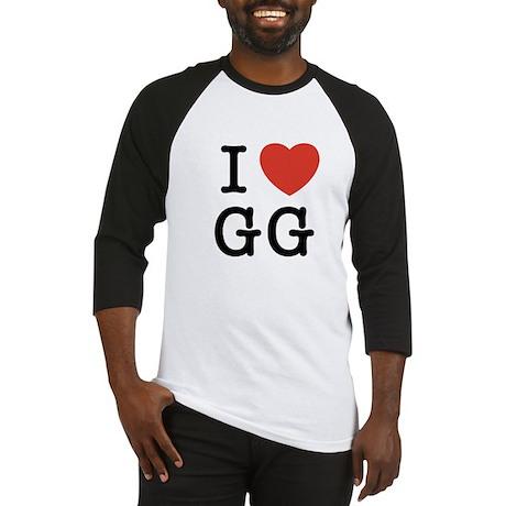 I Heart GG Baseball Jersey