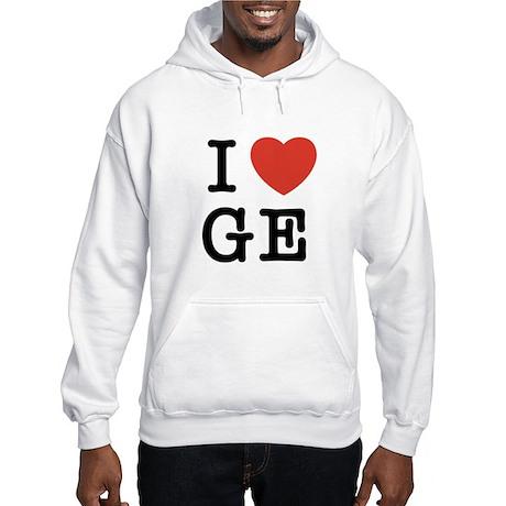 I Heart GE Hooded Sweatshirt