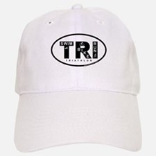 Thiathlon Swim Bike Run Baseball Baseball Cap