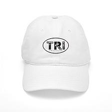 Thiathlon Swim Bike Run Baseball Cap