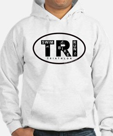 Thiathlon Swim Bike Run Hoodie