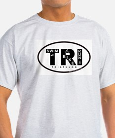 Thiathlon Swim Bike Run T-Shirt