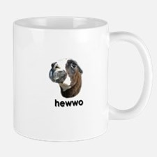 Hewwo Llama Mug