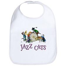 Jazz Cats Bib