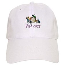 Jazz Cats Baseball Cap