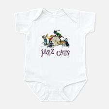 Jazz Cats Infant Bodysuit