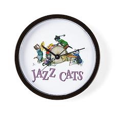 Jazz Cats Wall Clock