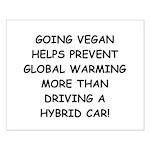 Going Vegan Small Poster