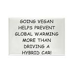 Going Vegan Rectangle Magnet (10 pack)