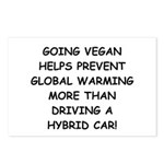 Going Vegan Postcards (Package of 8)