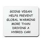 Going Vegan Mousepad
