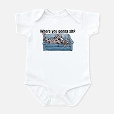 NMrl Where RU Infant Bodysuit