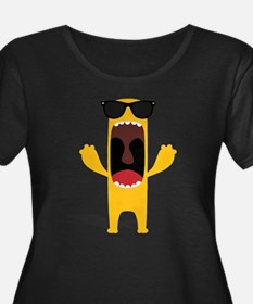 Yellow thing Women's Plus Size Dark T-Shirt