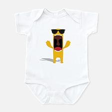 yellow thing Infant Bodysuit