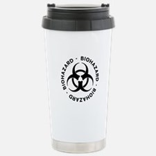 Biohazard Symbol Travel Mug