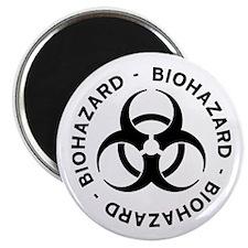 "Biohazard Symbol 2.25"" Magnet (100 pack)"