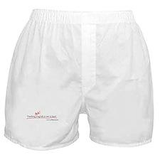 """""""Teaching English..."""" Boxer Shorts"""