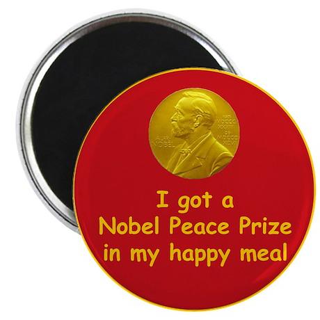 Nobel Happy Meal Magnet