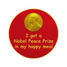"Nobel Happy Meal 3.5"" Button (100 pack)"
